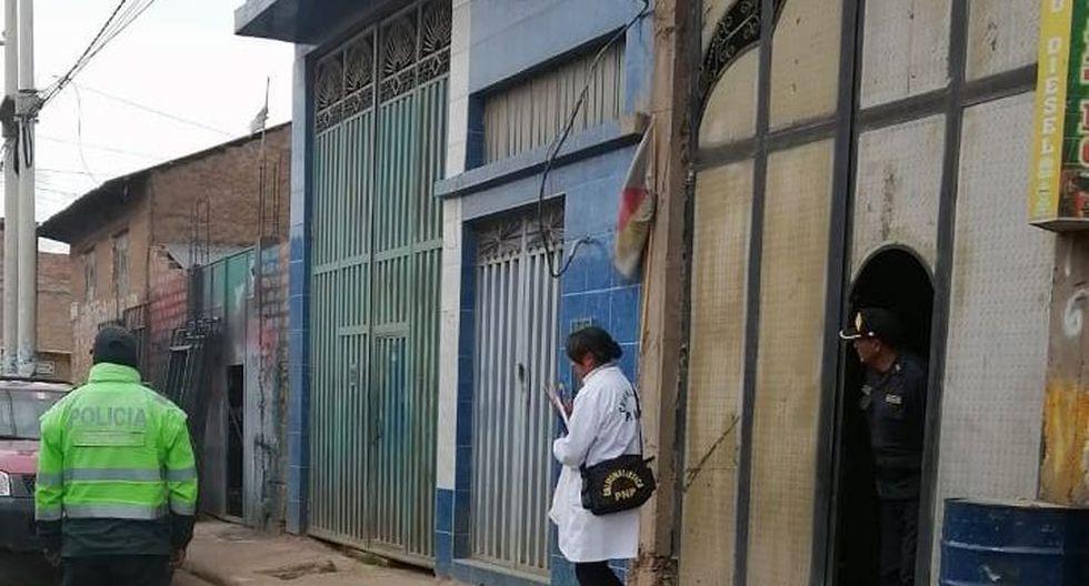 La joven permaneció secuestrada en esta vivienda de Huancané (Foto: cortesía)