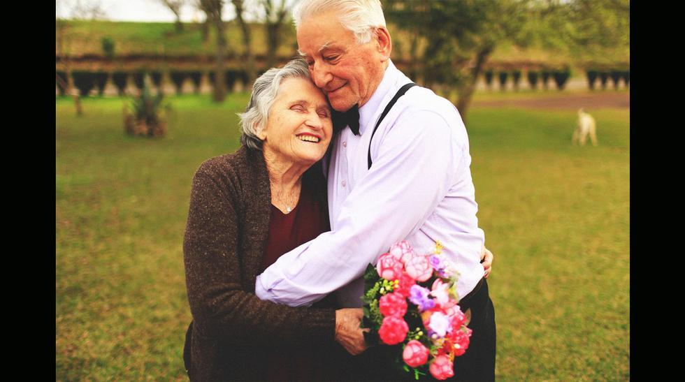 Para morir de ternura: Ancianos muestran su amor al estilo Up - 6