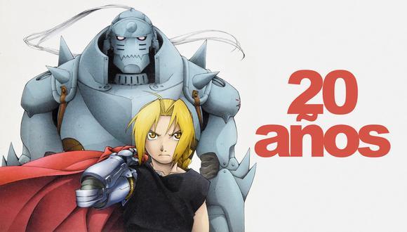 """En la imagen, los hermanos Elric, protagonistas del aclamado manga y anime """"Fullmetal Alchemist"""" que cumplió 20 años el 12 de julio del 2021. Foto: Sony Japan."""