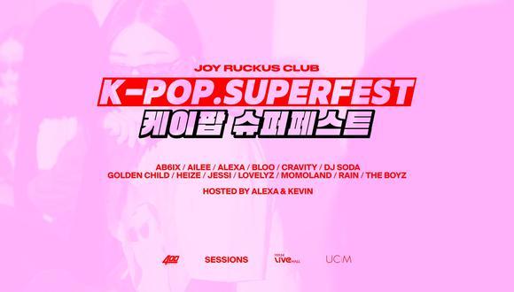La transmisión del K-Pop Superfest 2021 estará disponible en 194 países y 18 idiomas. (Foto: Twitter)