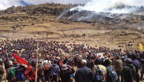 Las Bambas: ¿Por qué se inició protesta contra proyecto minero?