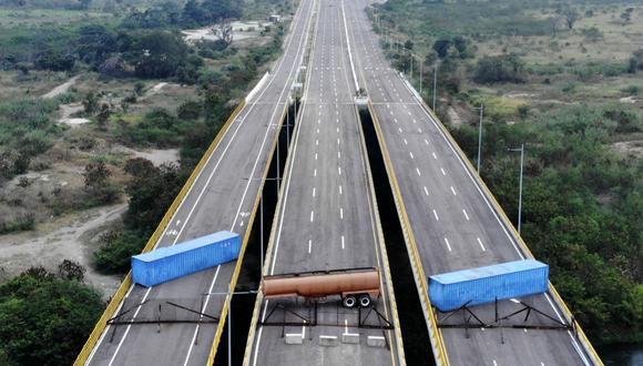 """Venezuela: Gobierno de Nicolás Maduro anuncia """"gran concierto"""" en la frontera con Colombia el 22 y 23 de febrero   Cúcuta. (AFP)."""