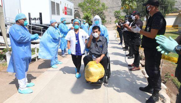 Ayer, 3.353 personas vencieron al coronavirus, según el reporte del Minsa (Foto: Gonzalo Cordova / GEC)