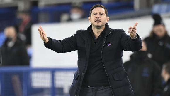 Frank Lampard habló sobre el emparejamiento Chelsea vs. Atlético de Madrid en octavos de Champions League | Foto: AP