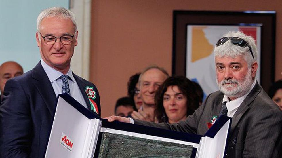 Claudio Ranieri recibió distinción como mejor técnico italiano - 1