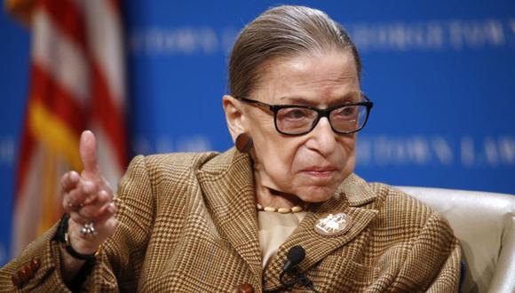 Ruth Bader Ginsburg falleció hace menos de un mes. (Foto: AP Photo/Patrick Semansky, File)