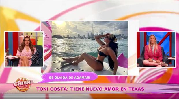 A Evelyn Beltrán le gusta la playa, por lo que le gusta lucir sus trajes de baño que resaltan su figura (Foto: Chisme en vivo)