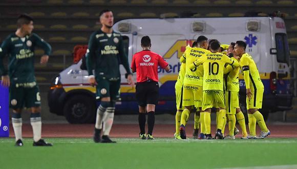 Una vez más, Deportivo Coopsol se convierte en el verdugo de la 'U' y lo elimina de la Copa Bicentenario tal y como ocurrió en 2019(Foto: Liga 1)