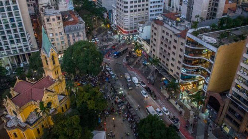 Sao Paulo es una de las capitales más vibrantes de América Latina. Foto: Getty images, vía BBC Mundo