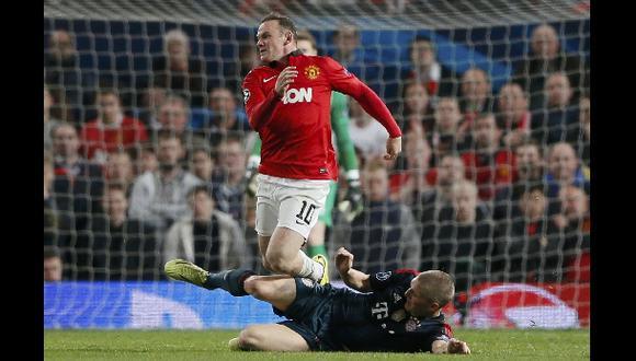 Rooney se podría perder el partido de vuelta de la Champions