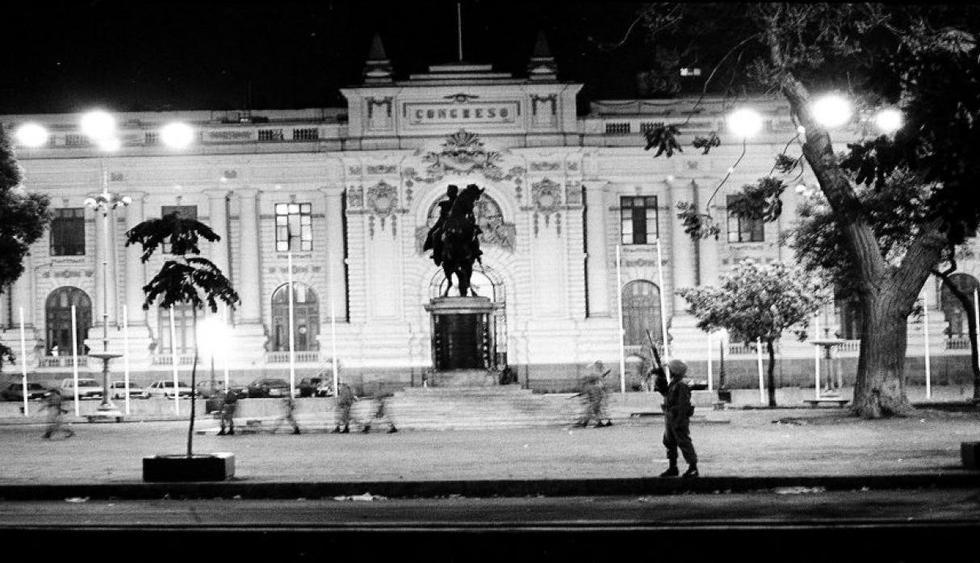 El autogolpe de Alberto Fujimori ocurrió el 5 de abril de 1992. (Foto: Archivo El Comercio)