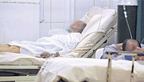 Médicos piden que se clausure el antiguo sanatorio. Allí se detectó a 50 trabajadores contagiados de COVID-19. El más grave es un médico internista que está en UCI. (Foto: Alessandro Currarino)