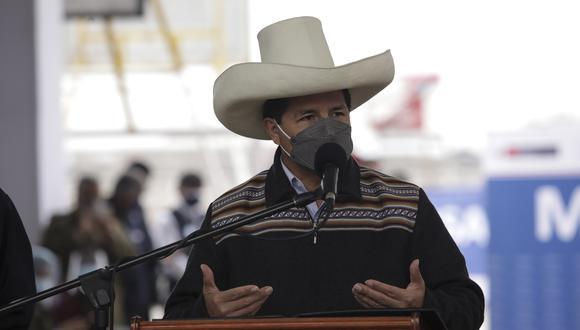 Pedro Castillo, presidente de la República. (Foto: GEC)