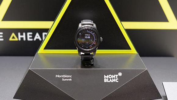 Montblanc lanza smartwatch y busca conquistar a 'millennials'