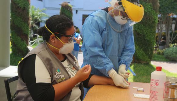 La comuna registra a la fecha cinco casos positivos de COVID-19 entre sus trabajadores. (Foto: Municipalidad de San Borja)