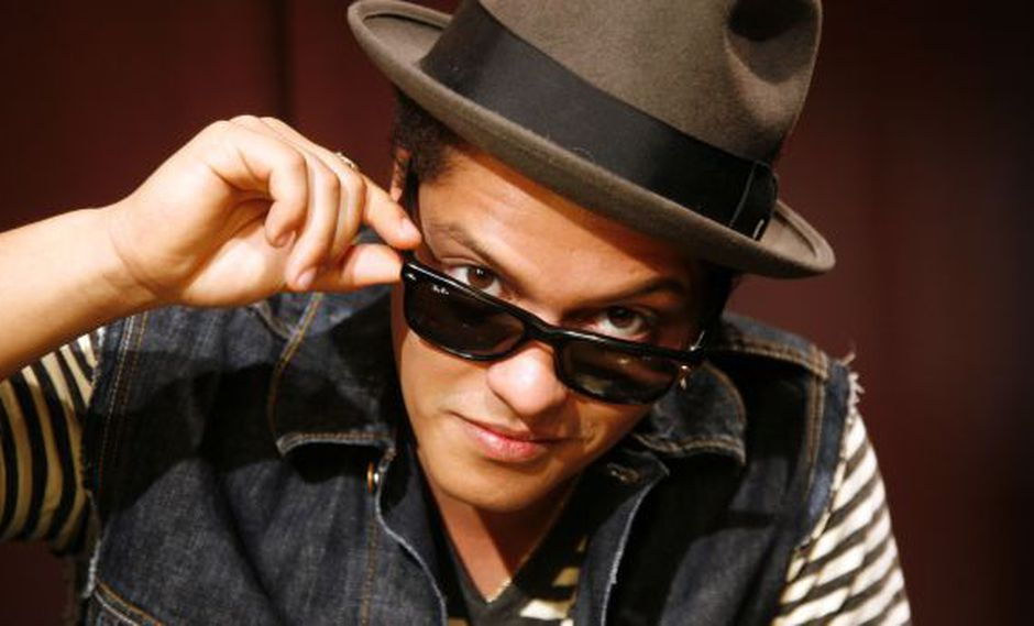 Bruno Mars tiene 21 millones de seguidores en Instagram.