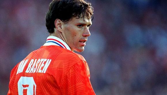 Marco van Basten se retiró del fútbol en 1995. (Foto: Agencias)