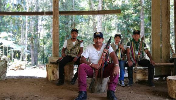 Luis Jansasoy Quinchoa fue presidente de Acimvip. Hoy hace parte de la Guardia indígena, encargada de proteger a la comunidad.