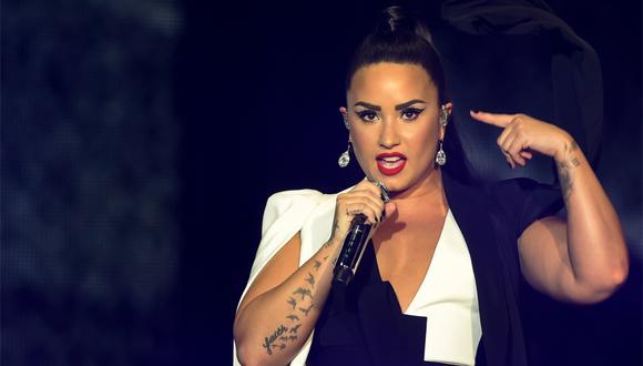 Demi Lovato cantará el himno previo al Super Bowl LIV en Miami. (Foto: AFP)