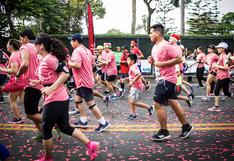 La Vuelta a San Isidro 8k: una carrera navideña en familia