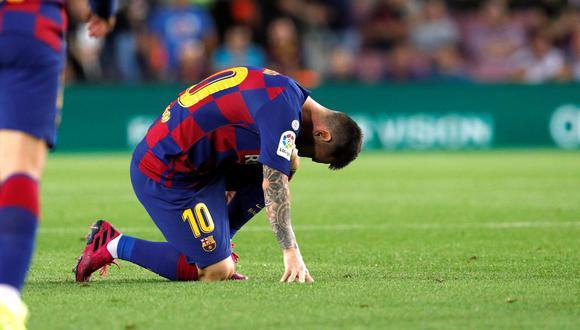 Lionel Messi fue cambiado por lesión ante Villarreal: el momento exacto del infortunio del argentino. (Foto: Reuters)