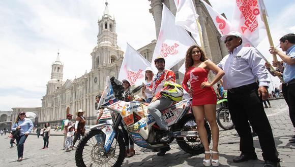 Sebastián Cavallero ya se encuentra en Arequipa tras el Dakar 2018. (Foto: Epa)
