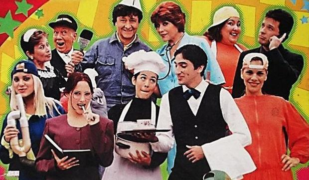 Mil Oficios is a Peruvian television series that was produced and directed by Efraín Aguilar for Panamericana Televisión.  (Photo: Panamericana TV / Panini)
