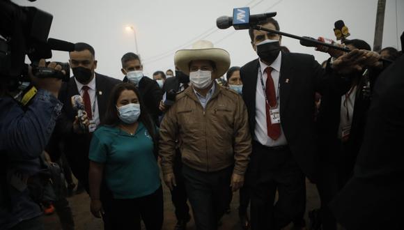 El candidato presidencial de Perú Libre reiteró que se le han acercado diversas personas pidiéndole cargos en un eventual gobierno suyo. (Foto: El Comercio)