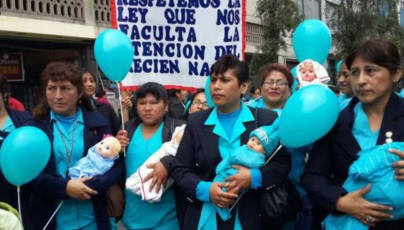 Huelga médica: obstetrices no acatan paro junto a Essalud