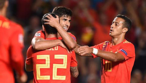 España le propinó una verdadera paliza a Croacia, la actual subcampeona del mundo. Los goles de 'La Roja' llegaron sin parar. La figura fue Asensio, quien metió dos tantos y repartió dos asistencias. (Foto: EFE)
