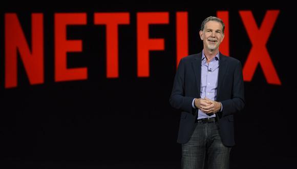"""Reed Hastings, CEO y fundador de Netflix, sobre su libro: """"Espero que tenga un buen efecto en muchas empresas"""". (Foto: AFP)"""