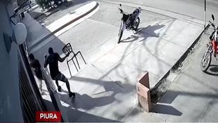 Policías se enfrentan a delincuentes que asaltaron un restaurante en Piura
