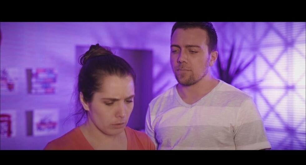 Yiddá Eslava y Julián Zucchi protagonizan 'Sí, mi amor'. (Foto: YouTube)