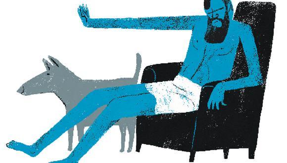 Provocadores e independientes, los cínicos heredaron de Sócrates su ideal de buscar, ante todo, la virtud. (Ilustración: Víctor Aguilar)
