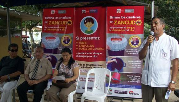 Confirman primer caso de zika en Ucayali
