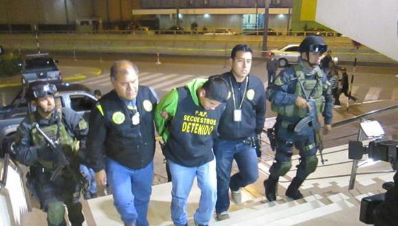 PNP capturó a extorsionadores 'Los sangrientos de Paramonga'