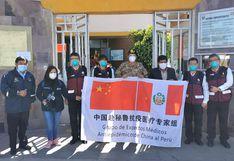 Médicos chinos dieron asistencia técnica a personal de salud de hospital regional de Arequipa