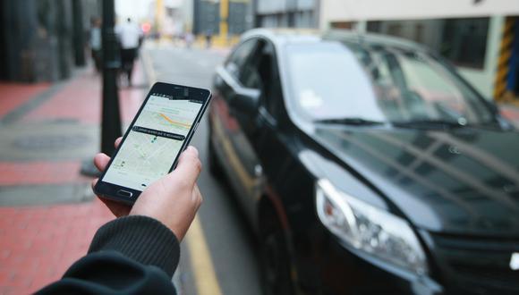 Taxis por aplicación. (Foto: GEC)