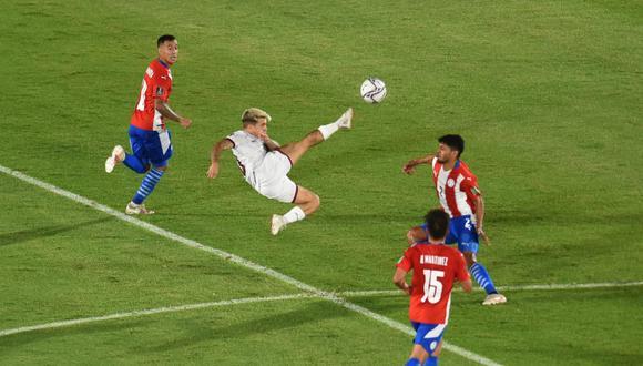 Resultado Venezuela vs. Paraguay por Eliminatorias Qatar 2022