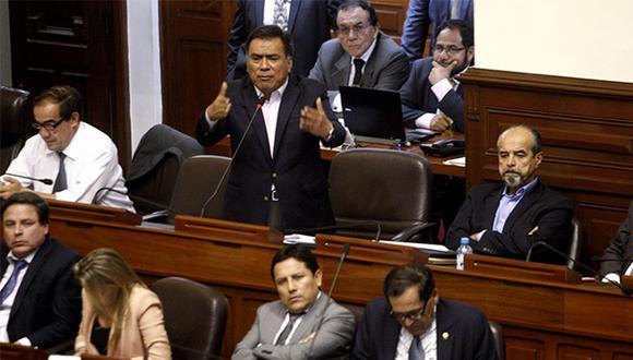 Célula Parlamentaria Aprista pidió diálogo para sacar adelante las reformas. (Foto: Agencia Andina)