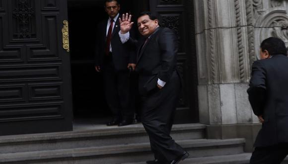 José Luna Gálvez es investigado por los aportes de las constructoras OAS y Odebrecht para la campaña de Luis Castañeda Lossio de 2014.  (Foto: Eduardo Cavero / GEC)