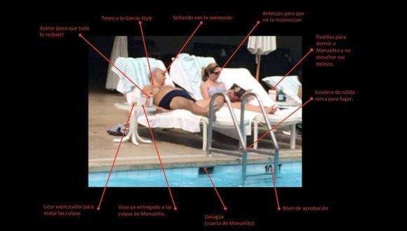 El meme de la foto de Manuel Burga en un hotel de Los Ángeles