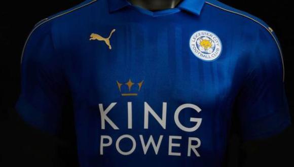Leicester City jugará la Champions League con esta camiseta
