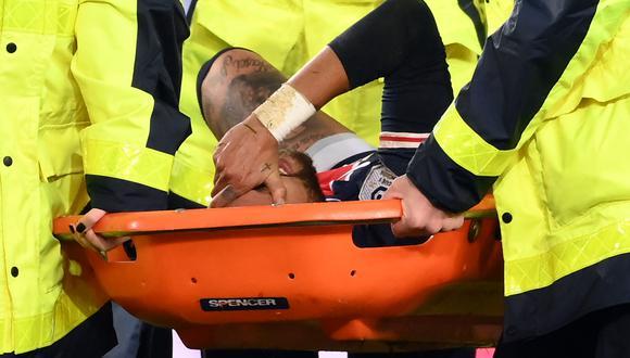 El brasileño sufriría una nueva lesión de tobillo. (Foto: AFP)
