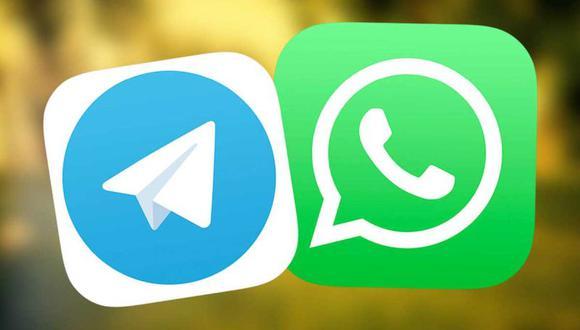 Conoce en esta nota algunas de las diferencias que existen entre las populares aplicaciones WhatsApp y Telegram | Foto: Referencial