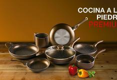 Cocina a la piedra premium:practicidad y lujo en una sola batería de cocina