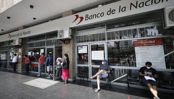 La creación de la Cuenta DNI  busca evitar aglomeraciones en el pago del segundo bono de 760 soles (Foto: Cesar Campos / GEC)