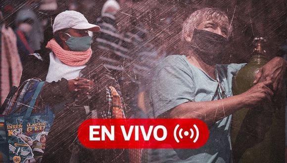 Coronavirus Perú EN VIVO | Últimas noticias, cifras oficiales del Minsa y datos sobre el avance de la pandemia en el país, HOY martes 5 de enero de 2021, día 296 de estado de emergencia por el Covid-19. (Foto: Diseño El Comercio)