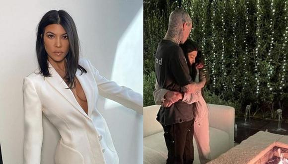 Kourtney Kardashian y Travis Barker oficializaron su relación en febrero de 2021. (Foto: Instagram)