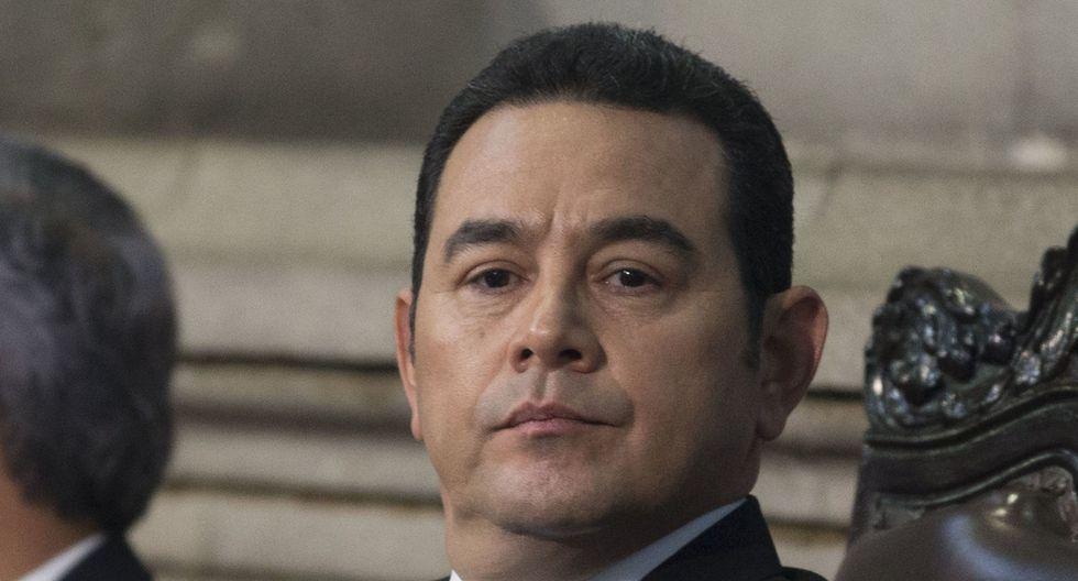 Jimmy Morales: Los lujos que el presidente de Guatemala no quiere pagar con su sueldo. (AP).